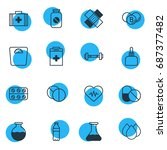 vector illustration of 16... | Shutterstock .eps vector #687377482