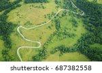 aerial landscape | Shutterstock . vector #687382558