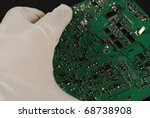 stock pictures of electronic... | Shutterstock . vector #68738908