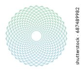 Color Abstract Circle Design...