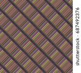 seamless background pattern... | Shutterstock .eps vector #687492376