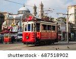 istanbul  turkey   july 30 ... | Shutterstock . vector #687518902