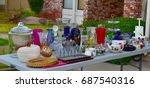 garage sale  yard sale... | Shutterstock . vector #687540316