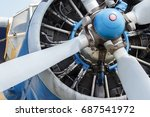 Small photo of Airplane propeller