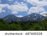 landscape of biei hokkaido japan   Shutterstock . vector #687600328