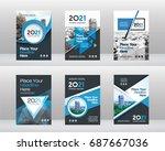 city background business book... | Shutterstock .eps vector #687667036