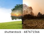 concept recycle of life... | Shutterstock . vector #687671566