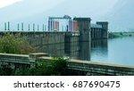dam in tamil nadu | Shutterstock . vector #687690475