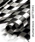 checkered background vertical ... | Shutterstock .eps vector #68773441