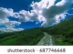specular  landscape view in... | Shutterstock . vector #687746668