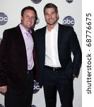 Small photo of LOS ANGELES - JAN 10: Chris Harrison & Brad Womack arrives to Winter Press Tour 2011-ABC on January 10,2011 in Hollywood, CA