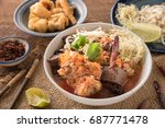 Thai Food  Rice Noodles With...