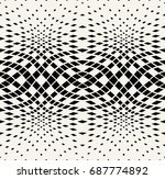 diamond seamless geometric... | Shutterstock .eps vector #687774892