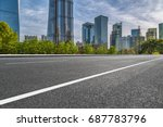 cityscape and skyline of... | Shutterstock . vector #687783796