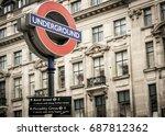 london  march 2017 uk ... | Shutterstock . vector #687812362