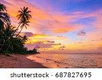 Beautiful Sunset On Bang Po...