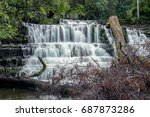 beautiful liffey falls in the... | Shutterstock . vector #687873286