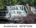 beautiful liffey falls in the... | Shutterstock . vector #687873286