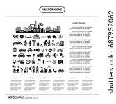 vector traveler explorer icon... | Shutterstock .eps vector #687932062