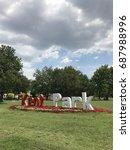kentpark  sakarya  turkey....   Shutterstock . vector #687988996