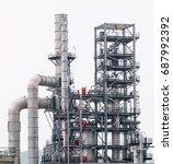 industrial zone the equipment... | Shutterstock . vector #687992392