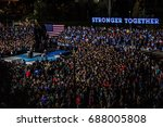 democratic presidential nominee ... | Shutterstock . vector #688005808