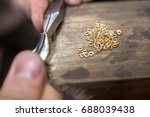 craft jewelery making with... | Shutterstock . vector #688039438