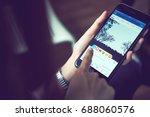 bangkok  thailand   august 01 ... | Shutterstock . vector #688060576