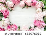 Floral Pattern  Frame Made Of...