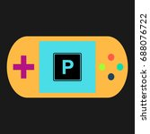 parking simple vector icon....