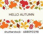 card  banner or poster flat... | Shutterstock .eps vector #688093198