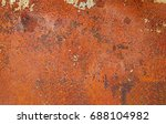 Orange Rust Grunge Abstract...