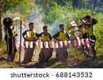 yogyakarta  indonesia   june 24 ... | Shutterstock . vector #688143532