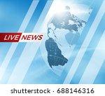 earth globe business background ...   Shutterstock .eps vector #688146316