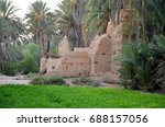 nature palm tree morocco | Shutterstock . vector #688157056