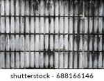 rough brick wall.  old concrete ... | Shutterstock . vector #688166146