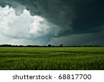 The Image Shows Dark Raincloud...