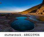 figure 8 pool sydney australia    Shutterstock . vector #688225906