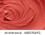 Cosmetic Clay Texture. Red Mud...