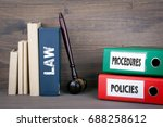 policies and procedures concept.... | Shutterstock . vector #688258612