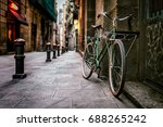bicycle in barcelona  spain | Shutterstock . vector #688265242