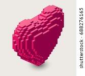 Vector Isometric Heart...