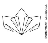 arrow pointer symbol | Shutterstock .eps vector #688309066