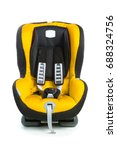 baby car seat  yellow color ... | Shutterstock . vector #688324756