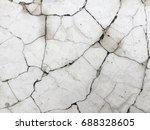 cracked concrete texture... | Shutterstock . vector #688328605