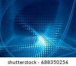 abstract background element.... | Shutterstock . vector #688350256