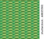 a triangular  green vector... | Shutterstock .eps vector #68835583