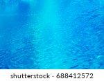 blue water surface background | Shutterstock . vector #688412572