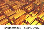 gold bullion gold bars treasury ... | Shutterstock . vector #688439902