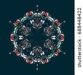 snowflake design | Shutterstock .eps vector #688448422